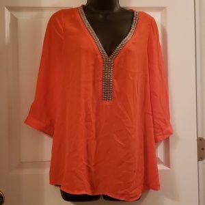 Ieshop orange top